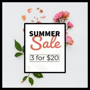 Other - 3 for $20 SALE
